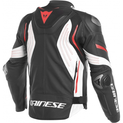 DAINESE bunda SUPER SPEED 3 black/white/fluo red