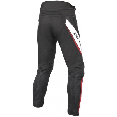 DAINESE nohavice DRAKE AIR D-DRY black/white/red