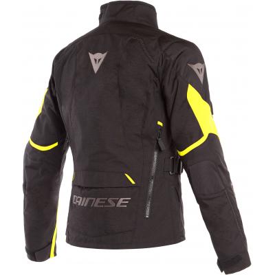 DAINESE bunda TEMPEST 2 D-DRY dámská black/black/fluo-yellow