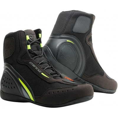 DAINESE boty MOTORSHOE D1 AIR black/fluo-yellow/anthracite