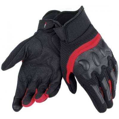 DAINESE rukavice AIR FRAME black/red