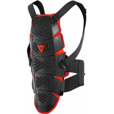 DAINESE chránič chrbtice PRO-SPEED Long black / red