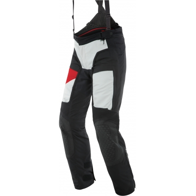DAINESE kalhoty D-EXPLORER 2 GORE-TEX glacier grey/lava red/black