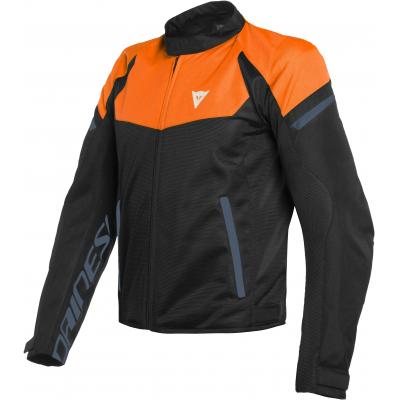 DAINESE bunda BORA AIR TEX flame orange/black iris/black