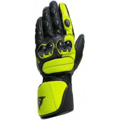 DAINESE rukavice IMPETO black/fluo yellow