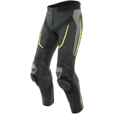 DAINESE kalhoty ALPHA Perf. black/matt gray/fluo yellow