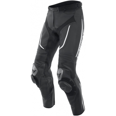 DAINESE kalhoty ALPHA Perf. black/black/white