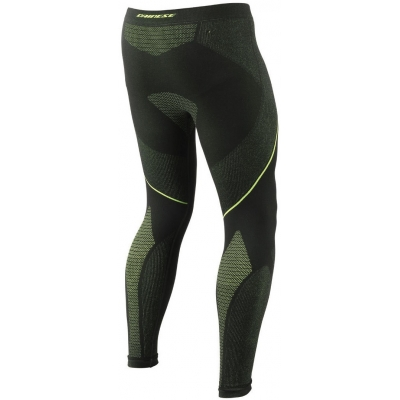 DAINESE termo nohavice D-CORE DRY LL black / fluo yellow