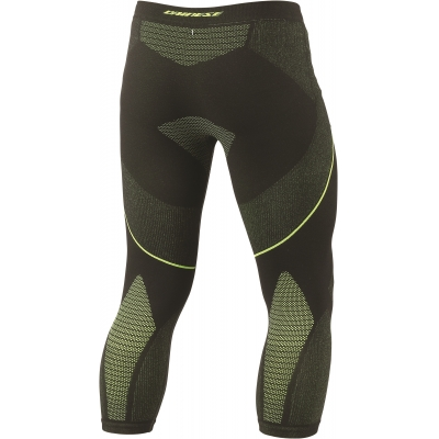 DAINESE termo kalhoty DRY 3/4 black/fluo yellow