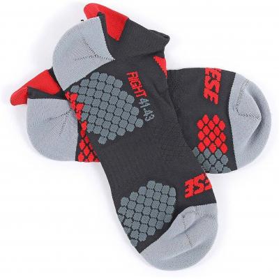 DAINESE kotníkové ponožky D-CORE black/red