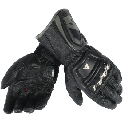 DAINESE rukavice 4 STROKE LONG black/black/black