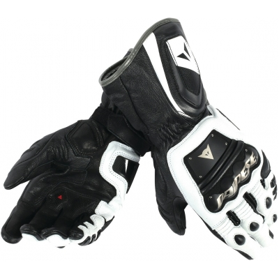 DAINESE rukavice 4 STROKE LONG white/white/black