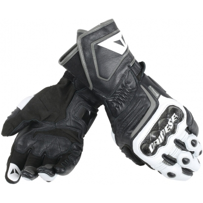 DAINESE rukavice CARBON D1 LONG black/white/anthracite