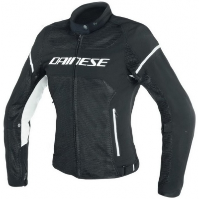 DAINESE bunda AIR-FRAME D1 dámska black/white
