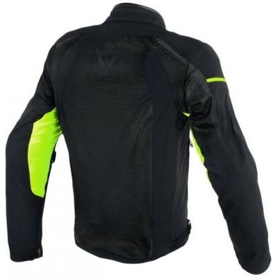 DAINESE bunda AIR-FRAME D1 TEX black/fluo yellow