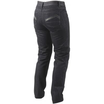 DAINESE kalhoty jean QUEENSVILLE REG. dámské black/aramid/denim