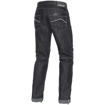 DAINESE nohavice jean D1 EVO denim / aramid / black