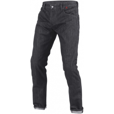 DAINESE nohavice jean STROKEVILLE SLIM / REG. black / aramid / denim