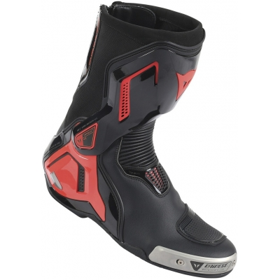 DAINESE boty TORQUE D1 OUT black/fluo red