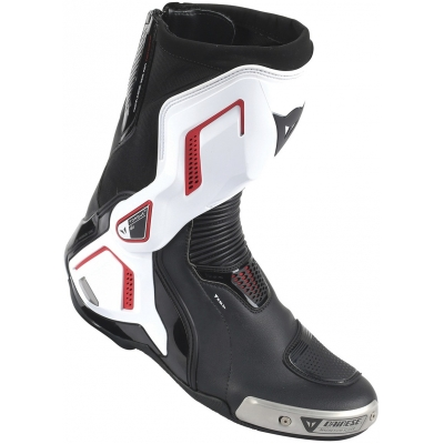 DAINESE boty TORQUE D1 AIR black/white/lava red