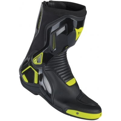 DAINESE boty COURSE D1 OUT black/fluo yellow