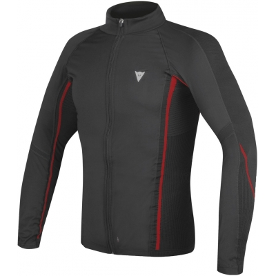 DAINESE termo tričko D-CORE NO-WIND THERMO LS black / red