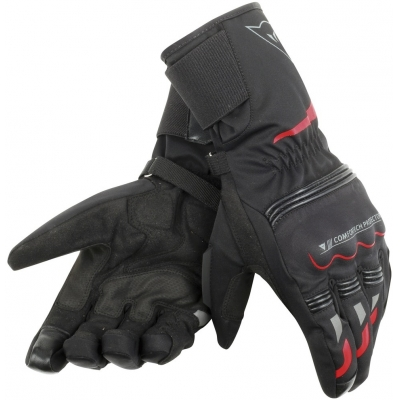 DAINESE rukavice TEMPEST D-DRY Long black/red