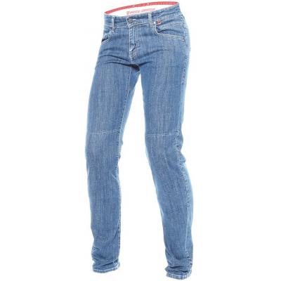 DAINESE kalhoty jean BELLEVILLE SLIM dámské medium denim blue