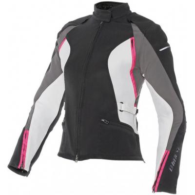 DAINESE bunda ARYA D-DRY LADY dámská black/grey/pink