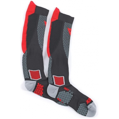 DAINESE podkolienky D-CORE black / red