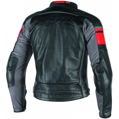 DAINESE bunda BLACKJACK black / red / smoke