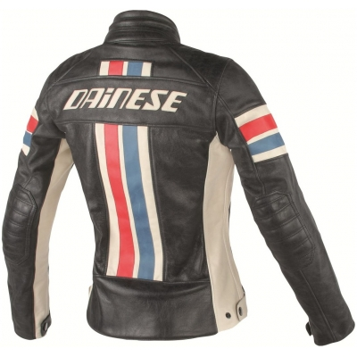 DAINESE bunda LOLA D1 dámská black/ice/red/blue