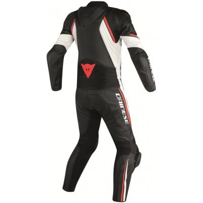DAINESE kombinéza AVRO D2 2-dílná black/white/fluo red
