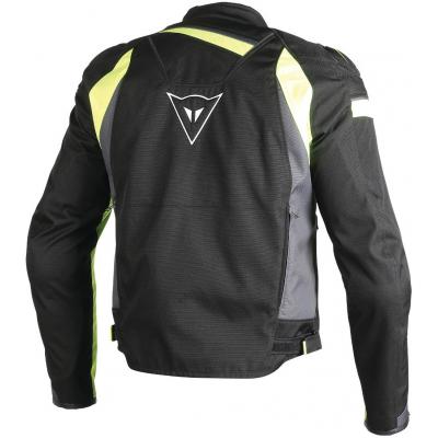 DAINESE bunda Veloster TEX black / ebony / fluo-yellow