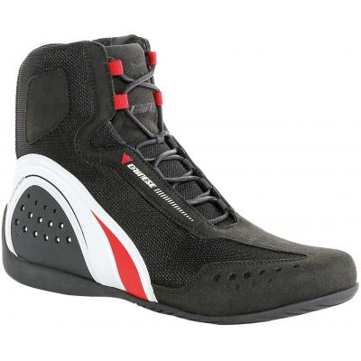DAINESE topánky MOTORSHOE D-WP JB black/white/red