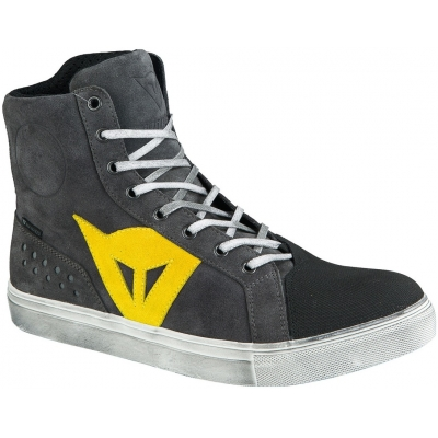 DAINESE topánky STREET BIKER D-WP anthracite/yellow