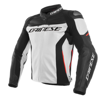 DAINESE bunda RACING 3 white/black/red