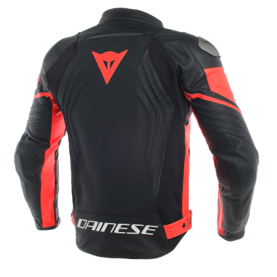 DAINESE bunda RACING 3 black/fluo red