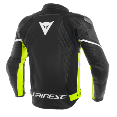 DAINESE bunda RACING 3 black/fluo yellow