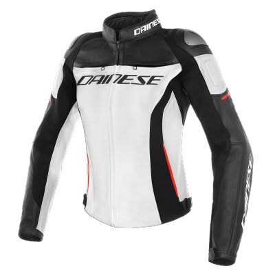DAINESE bunda RACING 3 LADY dámská white/black/red