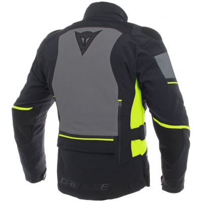 DAINESE bunda CARVE MASTER 2 GORE-TEX black/ebony/fluo yellow