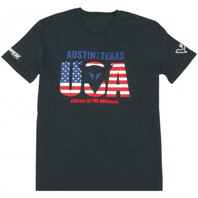 DAINESE tričko AUSTIN D1 black