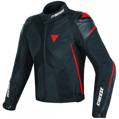 DAINESE bunda SUPER RIDER D-DRY black/red fluo