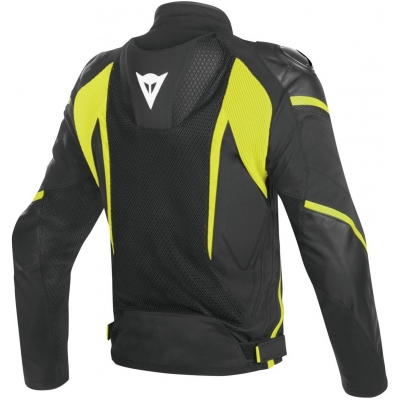 DAINESE bunda SUPER RIDER D-DRY black/fluo yellow