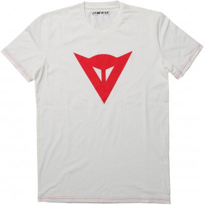 DAINESE triko SPEED DEMON white/red