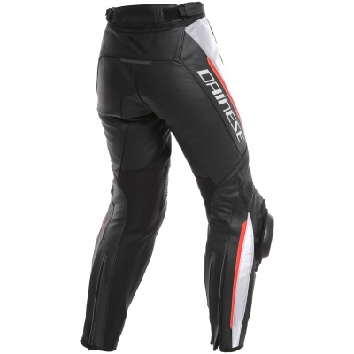 DAINESE nohavice DELTA 3 LADY dámske black/white/red