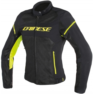 DAINESE bunda AIR-FRAME D1 dámská black/yellow fluo