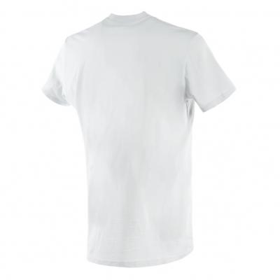 DAINESE tričko RACER-PASSION gray / burgundy