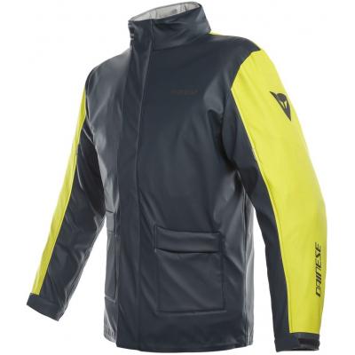 DAINESE bunda nepromok STORM JACKET antrax/fluo-yellow