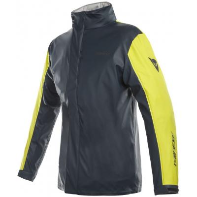 DAINESE bunda nepromok STORM LADY JACKET dámská antrax/fluo-yellow